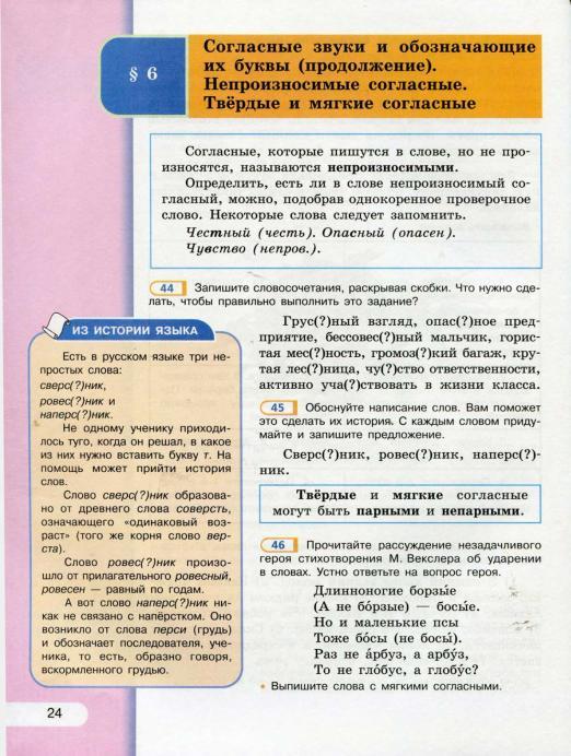 Как сделать задание по русскому языку 5 класс 2 часть